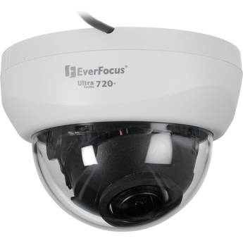 EverFocus Ultra 720+ TVL Indoor True Day/Night Dome Camera