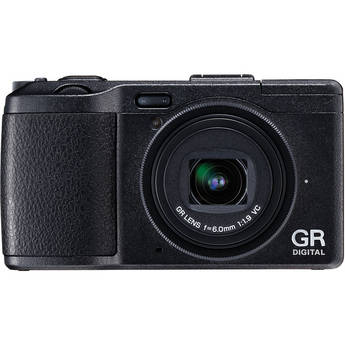 Ricoh GR DIGITAL IV Digital Camera (Black)