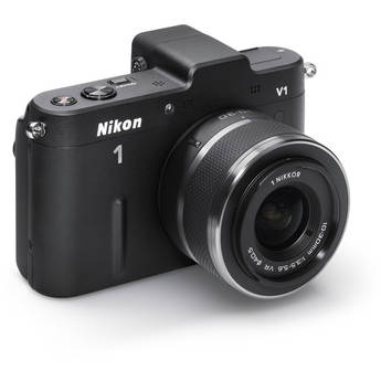 Nikon Nikon 1 V1 Mirrorless Digital Camera with 10-30mm Lens (Black)