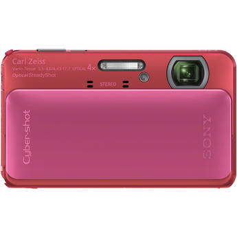 Sony Cyber-shot DSC-TX20 Digital Camera (Pink)