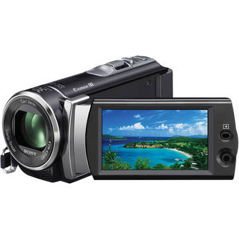 Sony HDR-CX190E Full HD Flash Memory Camcorder (PAL)