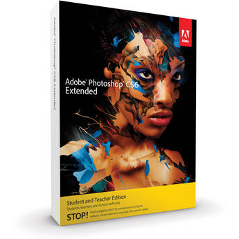 Adobe Photoshop Extended CS6 for Mac (Student & Teacher Edition)