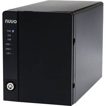 NUUO NVRmini2 NE-2020 NVR and Server (2-Channel, 2 Drive Bays, 2 TB)