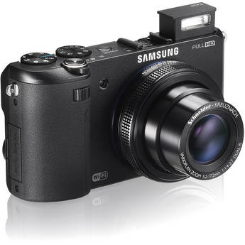 Samsung EX2 Digital Camera (Black)