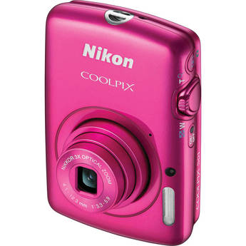 Nikon COOLPIX S01 Digital Camera (Pink)