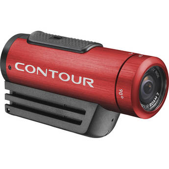 Contour ContourROAM2 Action Camcorder (Red)
