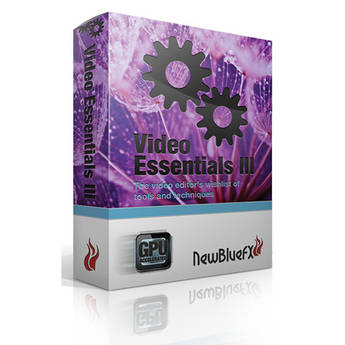 NewBlueFX Video Essentials III Plugin