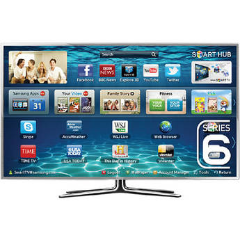 "Samsung UA-55ES6900 55"" Multisystem 3D Smart LED TV"