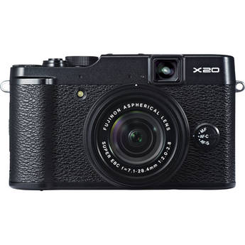 Fujifilm X20 Digital Camera (Black) IN STOCK