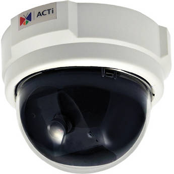 ACTi D51 1MP PoE Indoor Dome Camera with Fixed Lens