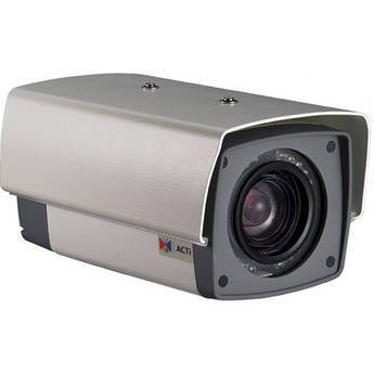 ACTi 4 MP IP IR Day/Night Outdoor Box Camera with ExDR