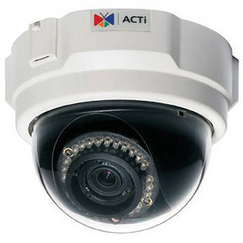 ACTi TCM-3511 H.264 1.3 Megapixel IP PoE Fixed Dome Camera