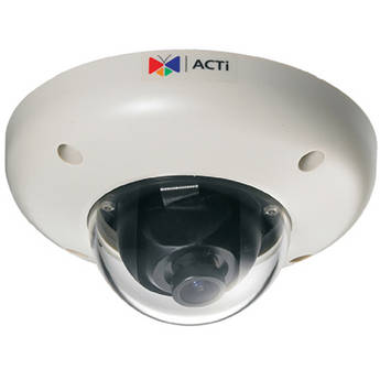 ACTi Megapixel IP Vandal-Proof PoE Indoor Mini Dome Camera