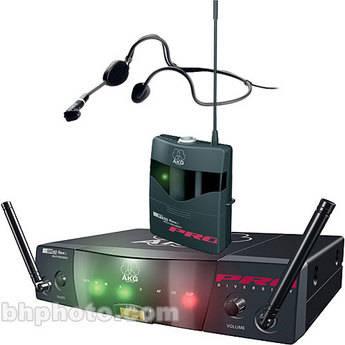 AKG WMS40 FLEXX Wireless Head-worn Microphone System