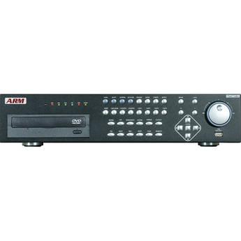 ARM Electronics 8-Channel Hybrid H.264 DVR with DVD-R/W
