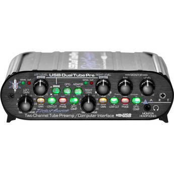 ART USBDualTubePre - Tube Preamp with USB Interface