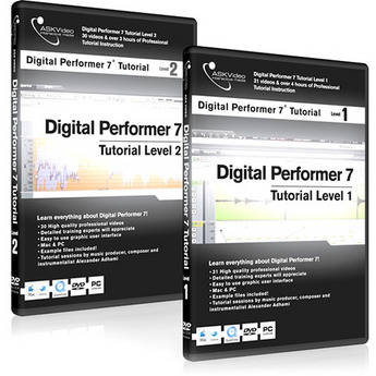 ASK Video Tutorial DVD: Digital Performer 7 Tutorial Bundle