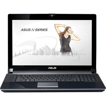 """ASUS N73SV-DH72 17.3"""" Notebook Computer (Silver)"""