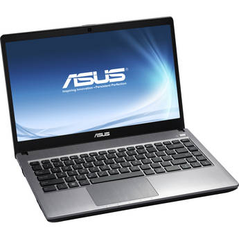 """ASUS U47A-RS51 14.1"""" Notebook Computer (Silver)"""