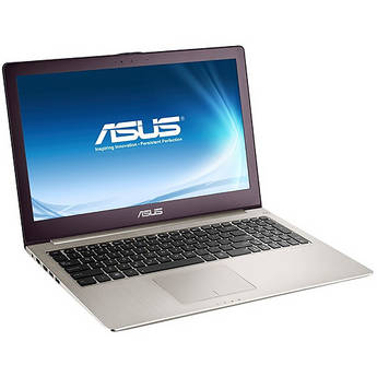 "ASUS Zenbook UX51VZ-DH71 15.6"" Notebook Computer (Silver)"
