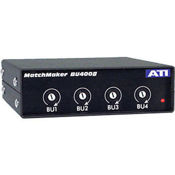 ATI Audio Inc BU-400B - 4-Channel Uni-directional Level Matching Device