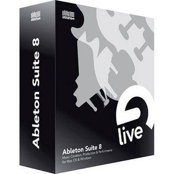 Ableton Ableton Suite 8 - Music Production Suite - (Upgrade for Owners of Live Lite)