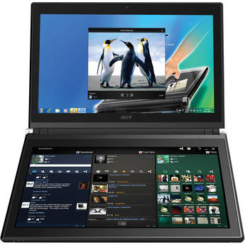 """Acer Iconia-6120 14"""" Dual-Screen Touchbook Notebook Computer"""