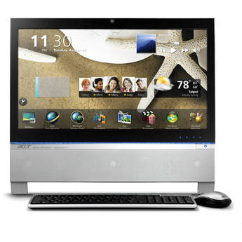 """Acer 1.0TB Z5 Series AZ5761-UR20P 23"""" Touchscreen All-In-One PC"""