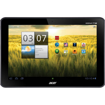 """Acer 16GB Iconia Tab A Series 10.1"""" A200-10g16u Tablet (Titanium Gray)"""
