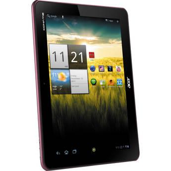 "Acer 16GB Iconia Tab A Series 10.1"" A200-10r16u Tablet (Metallic Red)"