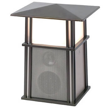 Acoustic Research AW850 Wireless Outdoor Lantern Speaker with Lamp