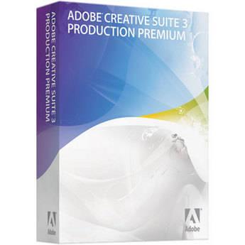Adobe Production Premium CS3 Software Suite for Mac