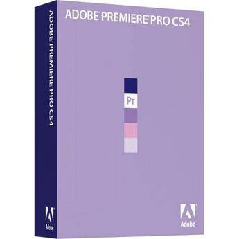 Adobe Premiere Pro CS4 Video Editing Software for Windows