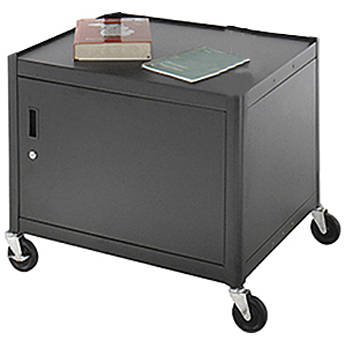 "Advance PixMate PM6 Ready-to-Assemble Cabinet Cart - 25x30x26"" (DxWxH) - Black"