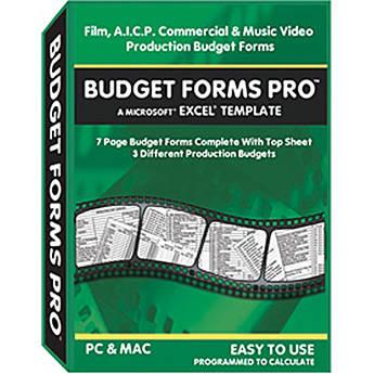Alan Gordon Enterprises Budget Forms Pro
