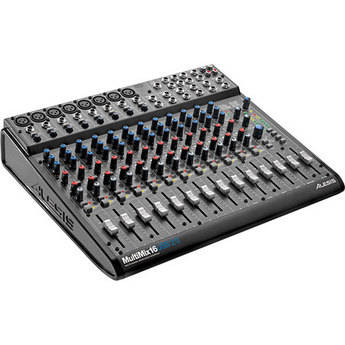 Alesis Multimix -16 USB 2.0 Recording Mixer with Effects