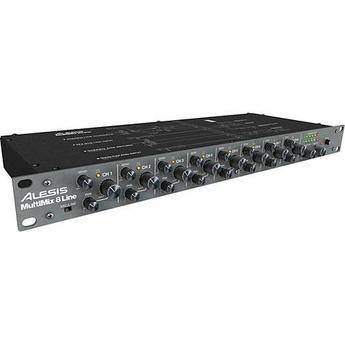 Alesis MultiMix 8 Line - 8-Channel Stereo Audio Line Mixer