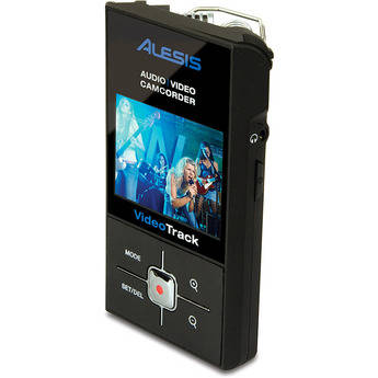 Alesis VideoTrack Handheld Audio and Video Recorder