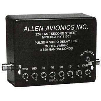 Allen Avionics VAR640 Variable Video Delay, Composite