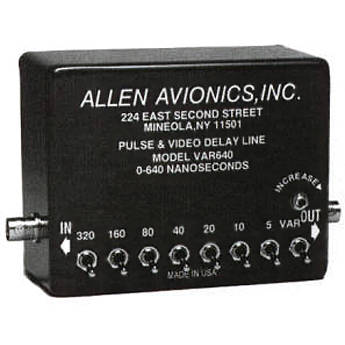 Allen Avionics VAR640 Variable Video Delay, Composite