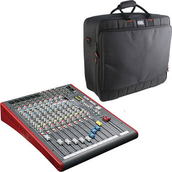 Allen & Heath ZED12FX 12-Channel USB and Effects Recording Mixer with Bag Kit