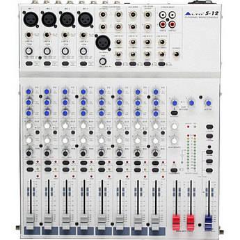 Alto S12 12-Channel 2-Bus Desktop Recording Mixer