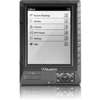 Aluratek Libre eBook Reader PRO (Black)