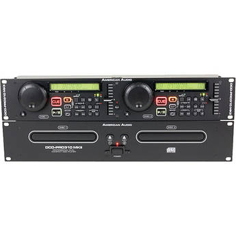 American Audio DCD-PRO310 MKII Dual CD Player
