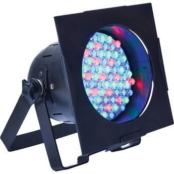 American DJ 38 LED Pro PAR Can--Black (120VAC)