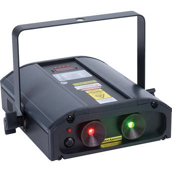 American DJ Galaxian 3D Red/Green Laser Effect (120VAC)