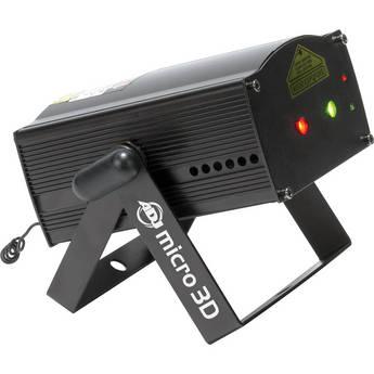American DJ Micro Galaxian Green & Red Laser