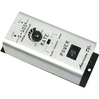 American DJ S-10S 1-Channel Strobe Controller (120VAC)