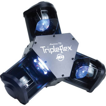American DJ Tripleflex LED Centerpiece Scanner (100-240VAC)
