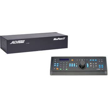 American Dynamics MegaPower LT Matrix Switcher/Controller System - 32x8 (CC 300)